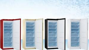 <b>Pozis</b> released a vertical freezer with no defrosting technology