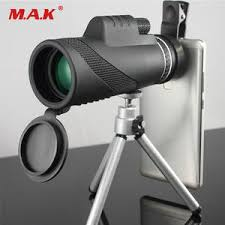 Buy <b>40x60</b> monocular powerful hunting telescope <b>hd high</b> quality ...