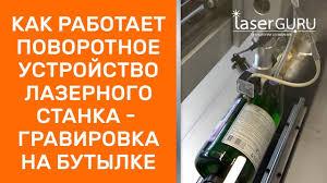 Как работает <b>поворотное</b> устройство лазерного станка ...