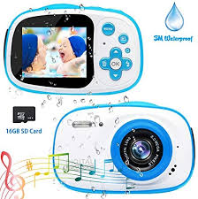 <b>Kids Camera</b>,8MP HD <b>Kids Waterproof Camera Mini</b> Gift Digital ...