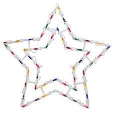 Northlight <b>18-Inch</b> Lighted <b>Star</b> Window Silhouette Christmas ...