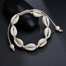 <b>Hot Sale Handmade Natural</b> Seashell Hand Knit Bracelet Shell ...