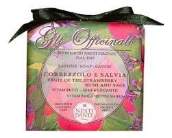 Купить <b>мыло Gli Officinali</b> Strawberry Bush &amp; Sage <b>Soap</b> 200г ...