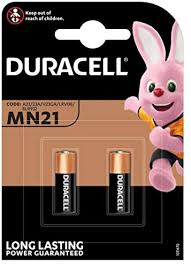 <b>Duracell</b> Specialty Alkaline <b>MN21</b> Battery 12 V, Pack of 2 (A23/23A ...