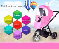 2018 <b>Baby Stroller Accessories</b> Universal Waterproof <b>Rain Cover</b> ...