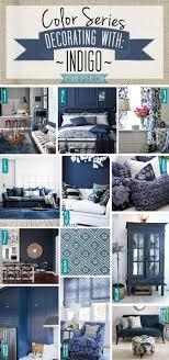 home daccor color color series decorating with indigo navy blue denim home decor a shade