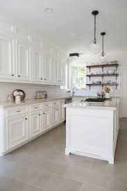kitchen moldings: beautiful farmhouse kitchen remodel used to be dark with oak cabinets added a box