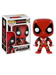 <b>Фигурка Funko POP</b>! <b>Bobble</b>: Marvel: Deadpool Two Swords 7486 ...