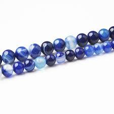 <b>LanLi Fashion Natural</b> Jewelry dark blue Veined onyx stones Loose ...