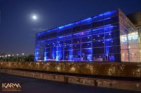 tempe center for the arts blue wedding uplighting 6212 blue wedding uplighting