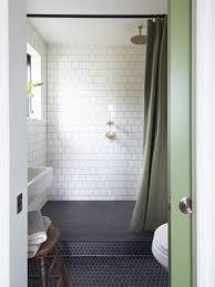 Hexagon Tile Floor Patterns Small Bathroom With Black Hexagon Bathroom Floor Tile And Marble