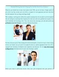 Top Professional Resume Writing Service