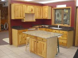 Pine Kitchen Cupboard Doors Knotty Pine Kitchen Cabinets With Small Kitchen Island Table With