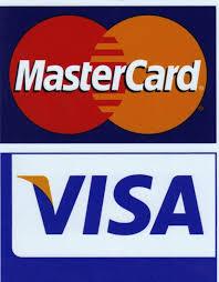 Resultado de imagen para logo visa y mastercard