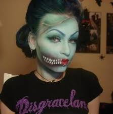 zombie pin up makeup tutorial