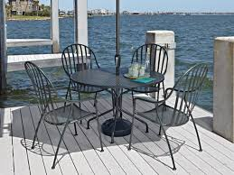 wrought iron patio furniture sets t m l f black black wrought iron patio