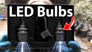 How to Install LED Headlight Bulbs in Your Car (LED vs Halogen ...