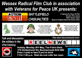 john and ken despicable humans veterans for peace film show talk and discussion bournemouth bank holiday monday 30th may 1930 hrs