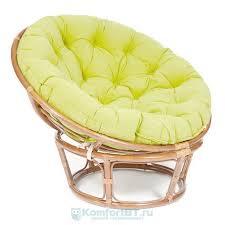 Купить Плетеное <b>кресло</b>-<b>качалку TetChair</b> Papasan w 23/01 B мед ...