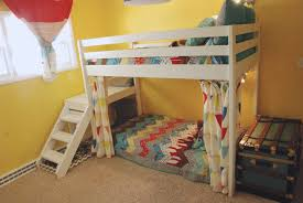 image of diy bunk beds with stairs bunk beds toddlers diy