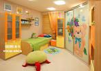 Встроенный шкаф в детскую