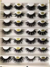 25mm 5D mink eyelashes 37 styles <b>1 pair Super</b> Long <b>natural</b> Thick ...