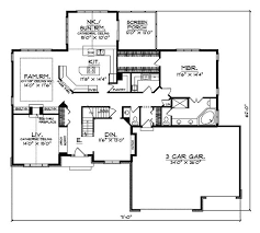 Northaire Traditional Home   Modern House Plans  Modern Houses and    Modern House Plan First Floor   D    House Plans and More