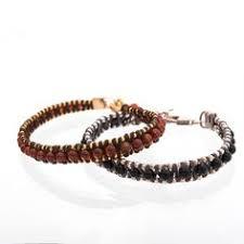 <b>Boho Bracelet Hematite Bracelet</b> Silver <b>Bracelet</b> Beaded <b>Hematite</b> ...