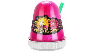 <b>Слайм KiKi MonsterS Slime</b> Ароматная Малина 130g - Чижик