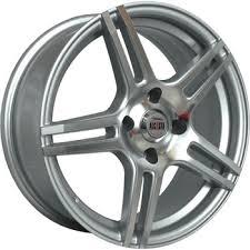 Wheel disc <b>ALCASTA</b> M36 <b>6.5x16/5x112</b> D57.1 ET42 Silver - buy at ...
