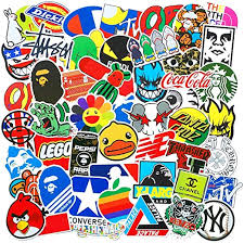 <b>100 Pcs Fashion</b> Brand Cool Stickers For Laptop Stickers Motorcycle...