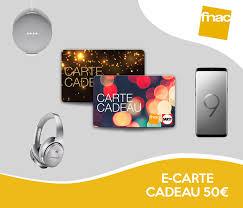 FNAC - DARTY - 5% off the €50 e-gift cards Fnac-Darty | Le ...