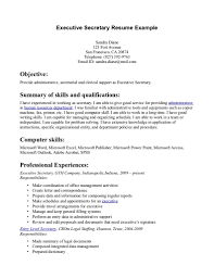 secretary resume examples getessay biz secretary resume example executive secretary resume example page 1 in secretary resume secretary resume samples