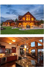Barn Post  amp  Beam Homes Plans   Loft Living Space  Rustic Cabinsexample of barn for living space