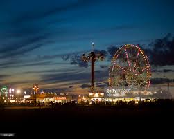 john manno pictures getty images coney island boardwalk at night the wonder wheel in the background
