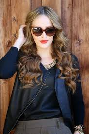 cute easy hairstyles for wavy hair with sungles pictures
