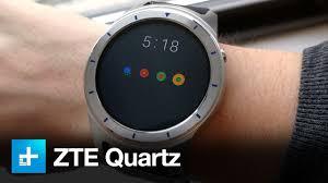 ZTE <b>Quartz Smartwatch</b> - Hands On Review - YouTube