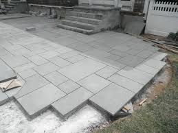 stone patio installation: east hampton out door stone fireplace gas fire place outdoor paver patio built in suffolk county