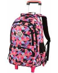 Vbiger Little Girl Wheeled Backpack <b>Adorable</b> Rolling Daypack ...
