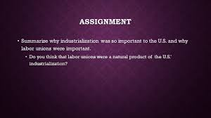 unit gilded age part industrialization great entrepreneurs 25 assignment