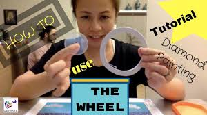 <b>Diamond Painting TOOL</b> TUTORIAL THE WHEEL - YouTube