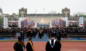 u penn  and others drop an essay requirement for standardized    the university of pennsylvania commencement in    gilbert carrasquillo getty images