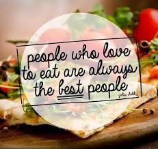 Image result for people who eat are the best