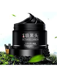 <b>Черная маска - пленка для лица</b> с бамбуковым углем (удаление ...