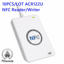 NFC ACR122U <b>RFID smartcard</b> USB Port <b>Smart Card Reader</b> ...