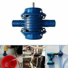 Electric <b>Self</b>-<b>Priming Hand</b> Drill Water Pump Centrifugal <b>Heavy Duty</b> ...