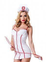 <b>Эротический игровой костюм</b> сексапильной Медсестрички <b>Le</b> ...