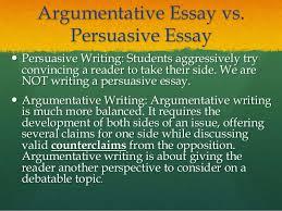argumentative persuasive essay  wwwgxartorg argumentative essayarguments argumentative essay vs persuasive essay   persuasive writing