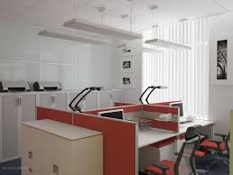 beautiful office interior design with 4 staff configuration partition 100x100 fascinating beautiful interior design of offices beautiful office designs