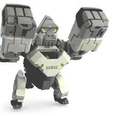 ᗑXiaomi 52Toys <b>Deformation Toy Beast Series</b> Program Ape Toy ...